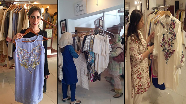 Sarah Anees – Eid Luxury Pret '16