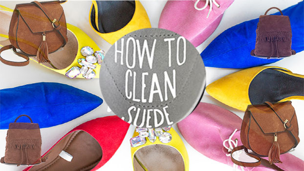 Tips to clean your suede shoes and bags easily!!