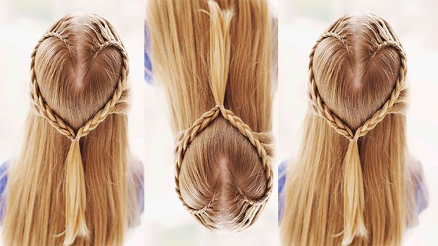 Kickback, relax and save the day with a simple hairdo