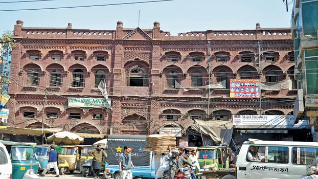 Commercialization: The New Face of Lahore Walled City