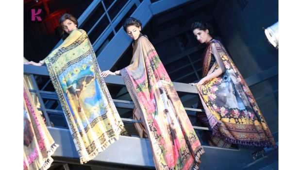 Shahnaz Sheikh's Artwear – Digitally Printed Saris