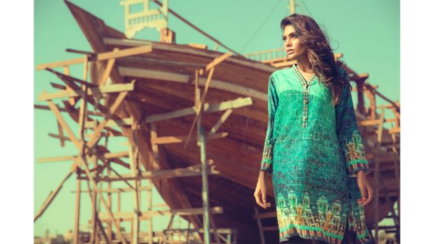 "319f3a019f Ideas by Gul Ahmed launches new pret collection titled ""Digital Dreams-  Nautica"""