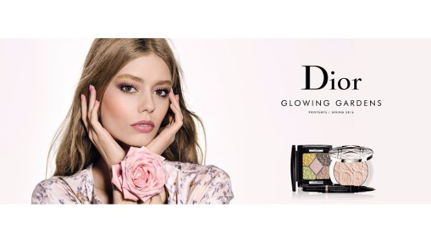 Christian Dior 'Glowing Gardens' Spring Makeup Collection 2016