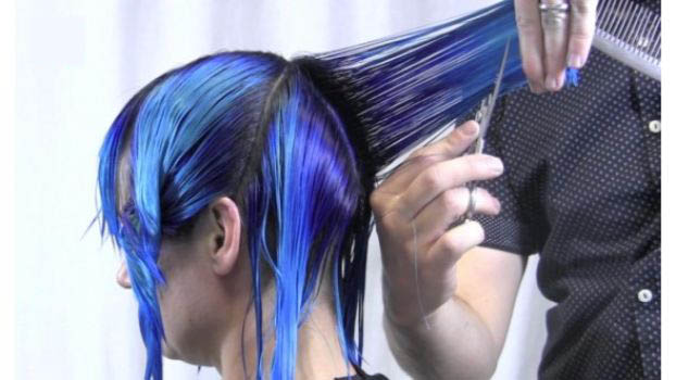 Introducing Denim Hair!!  The latest trend to catch our attention!!
