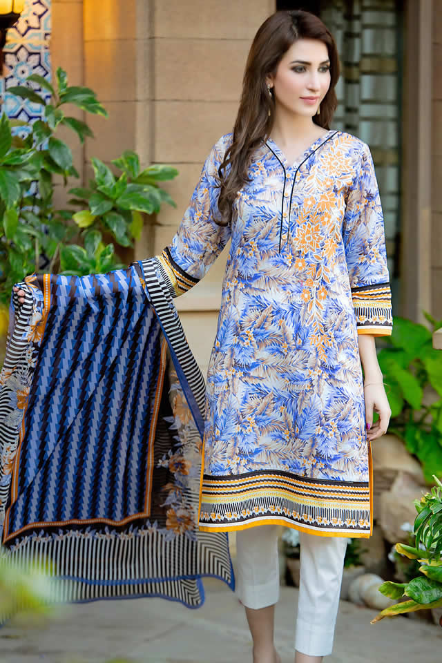 f1f176010b Fashion brand Zeen launched spring summer lawn dresses 2016 ...