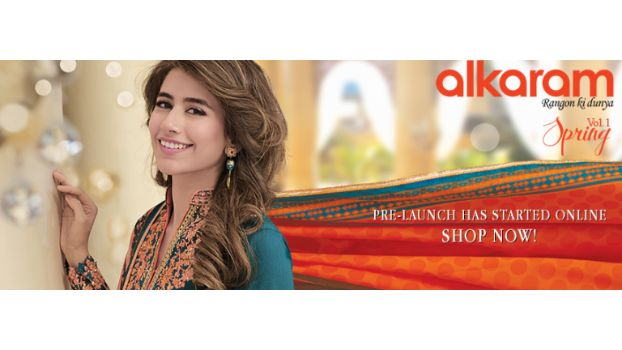 Alkaram Spring Vol.1 Lawn Collection 2016 Launched