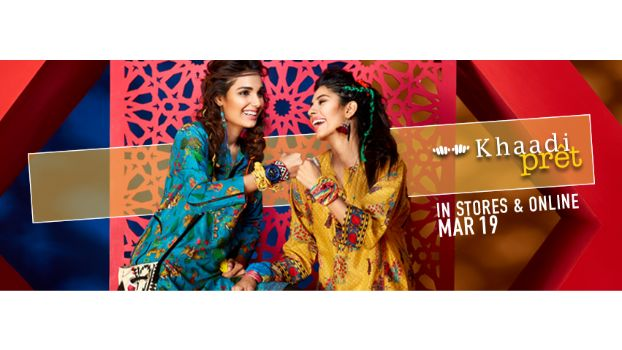 Khaadi Pret Collection 2016 Vol. 2 Launching on 19th March