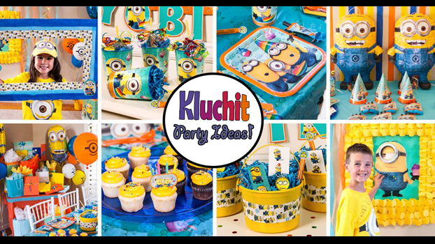 One in a Minion?? Let us help you organize your own Minion-Themed Birthday!!
