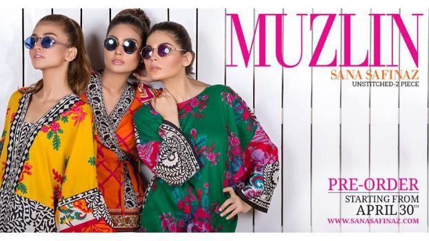 Sana Safinaz Launch Their Latest Lawn Collection – Muzlin