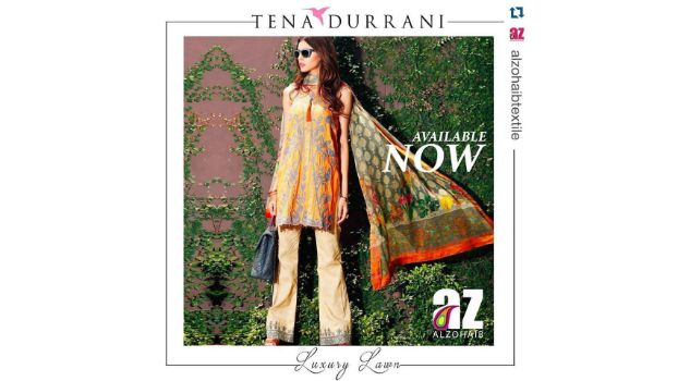 Tena Durrani Luxury Lawn Collection Available From Today