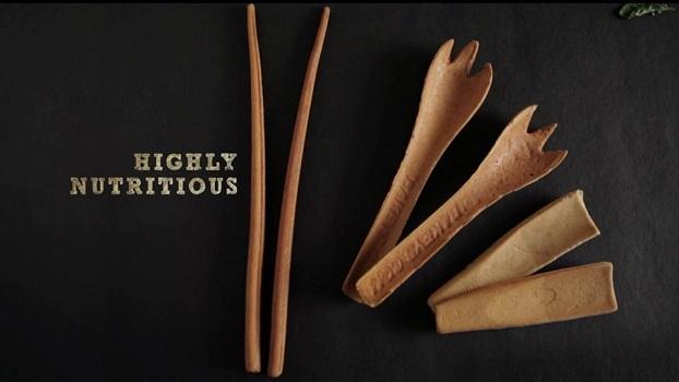 Edible Cutlery- Say no to plastic!