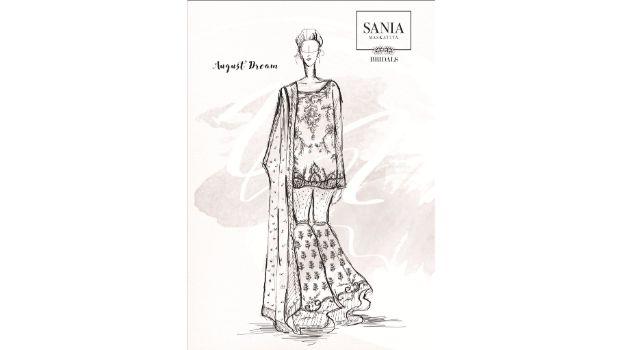 Sania Maskatiya to showcase 'August Dream' at PFDC L'Oréal Paris Bridal Week16!