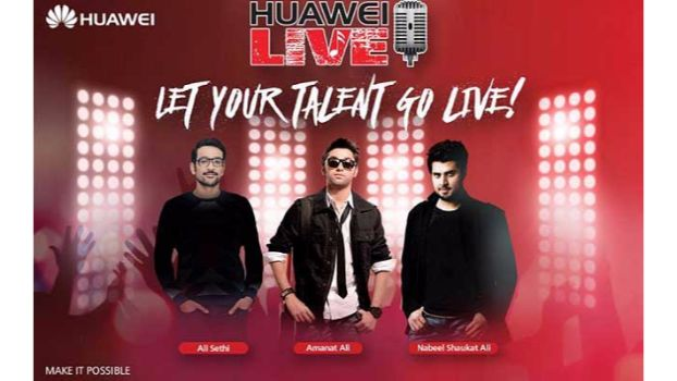 Singing Dream Comes Alive with Huawei Live!