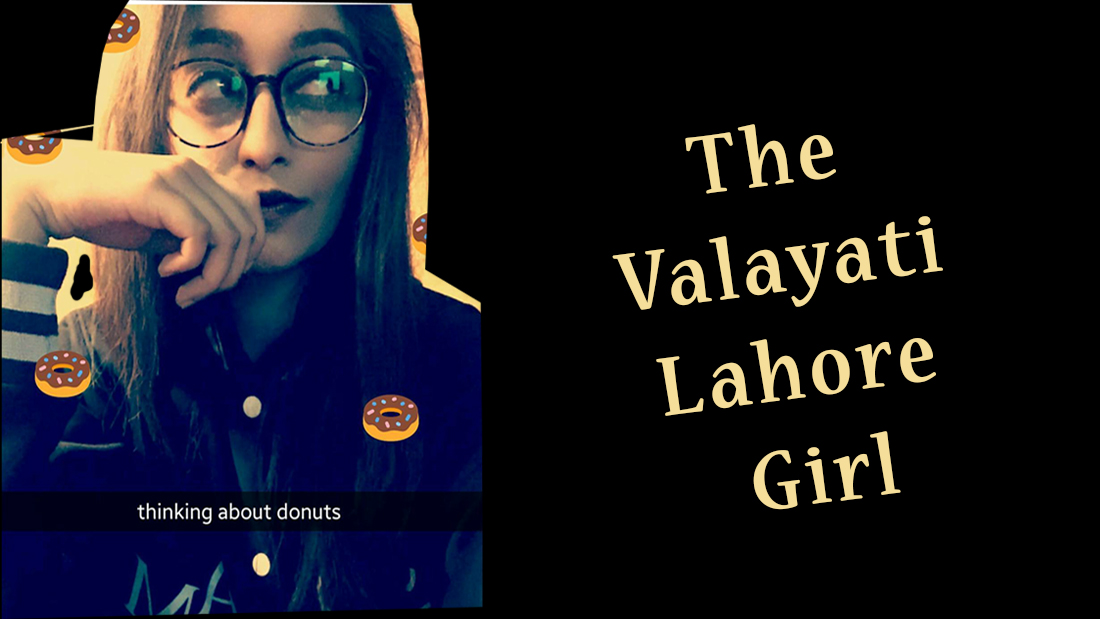 Are you following the Valayati Lahori Food Queen?