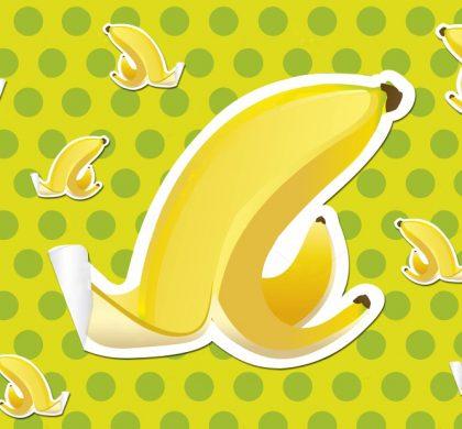 Banana peels – sigh of relief