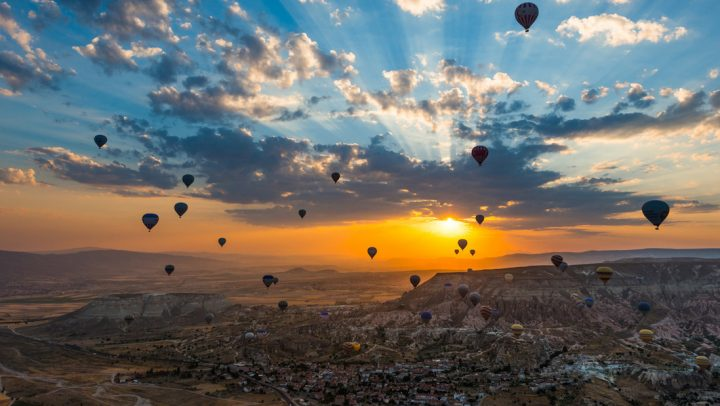 Explore Cappadocia, Turkey with Hot Air Balloons