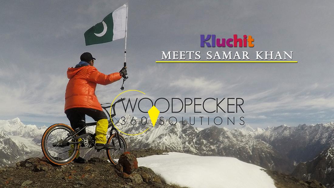 Kluchit meets Cyclist Samar Khan!!!