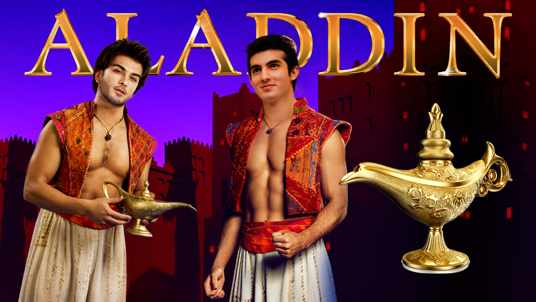 Disney take notes, this person should be the next Aladdin!