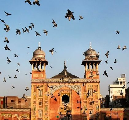 Mesmerizing aerial views of Wazir Khan Mosque!