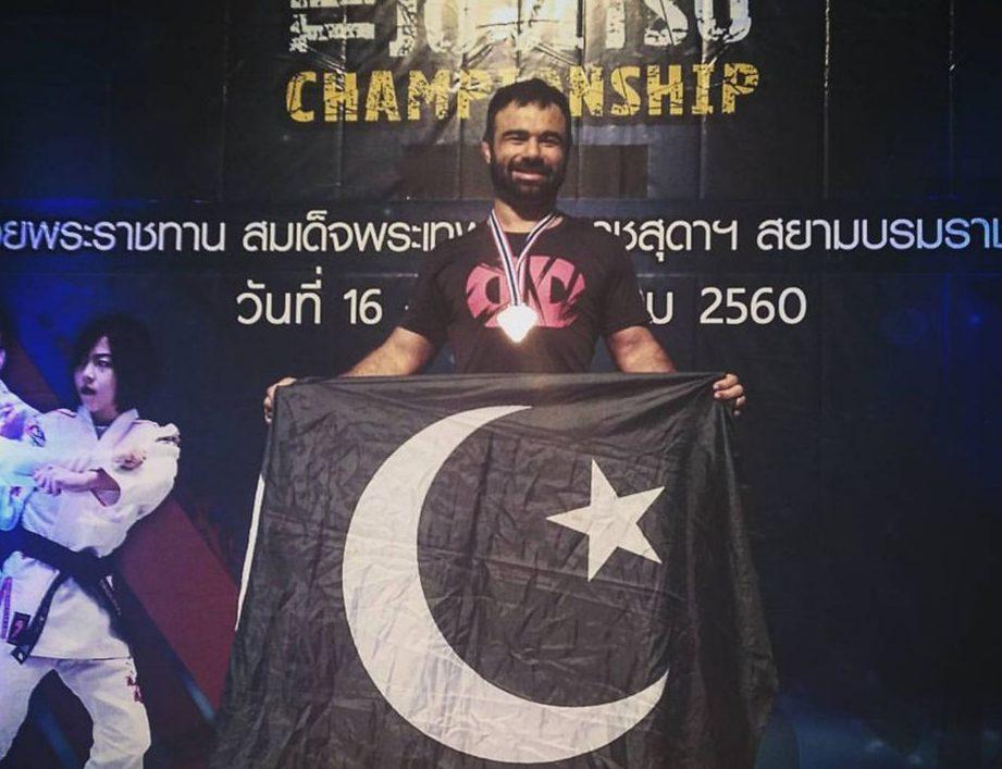 Pakistani MMA 'Bashir Ahmad' wins gold