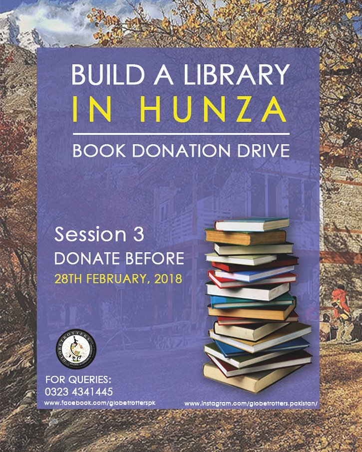 hunza-library-globetrotters