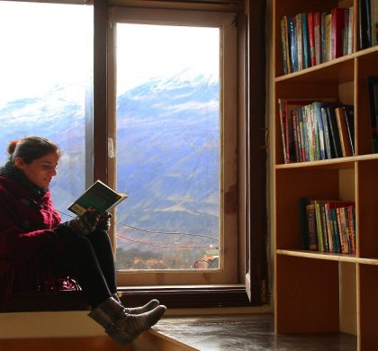 Help this travel agency collect books for a public library in Hunza