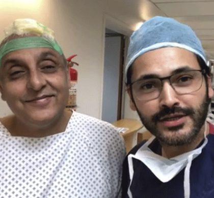 Fahad Malik steps up to do Sajid Hassan's reconstructive surgery