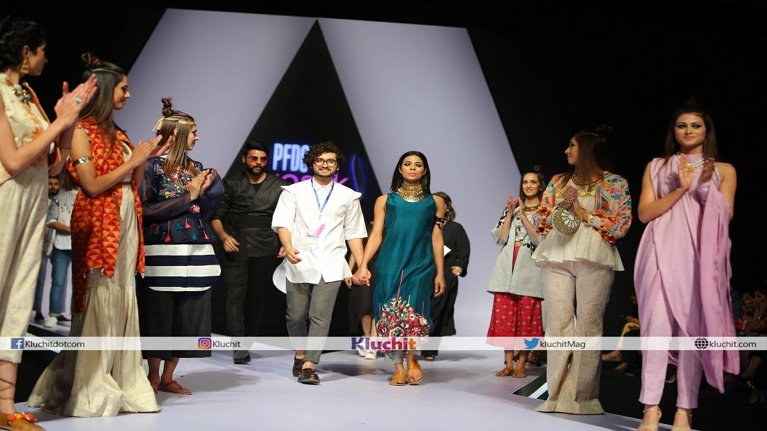 PFDC Sunsilk Fashion Week 2018: PEL Craft/Design Show with Gold by Reama Malik