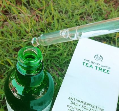 Bodyshop Tea Tree Anti Imperfection Daily Solution Review