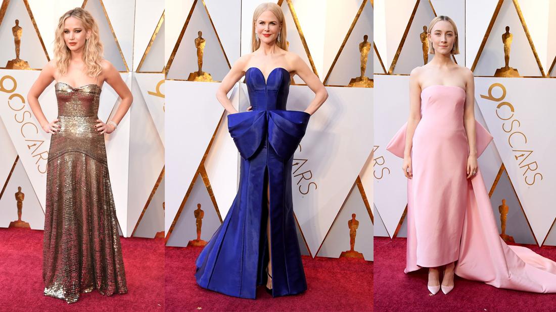 Oscars 2018 Best Dressed!