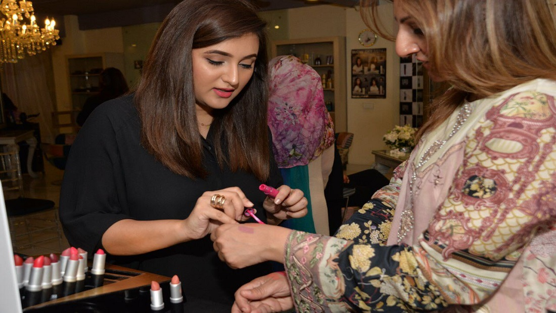 Masarrat Misbah Makeup meet and greet to promote their latest collection