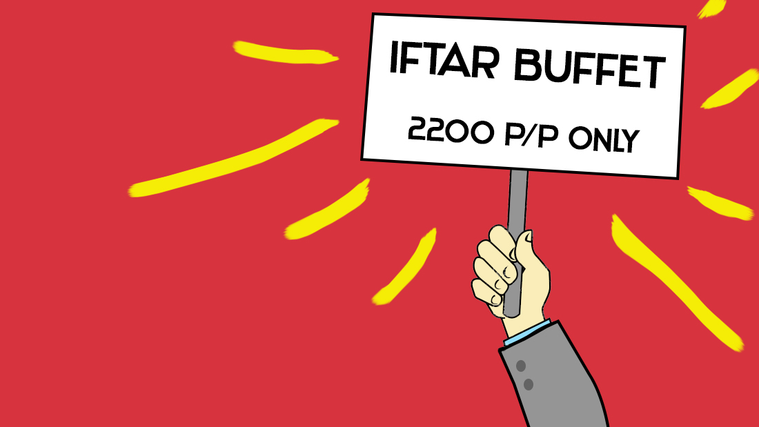 Are extravagant Iftar buffets taking away the real meaning of Ramadan?