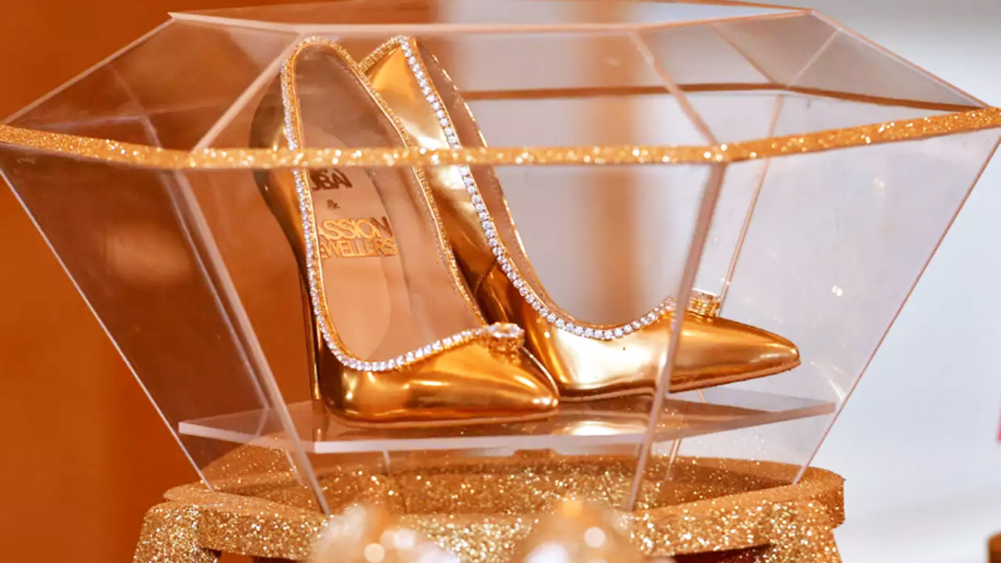 Would you buy world's most expensive shoes for 210 crores?