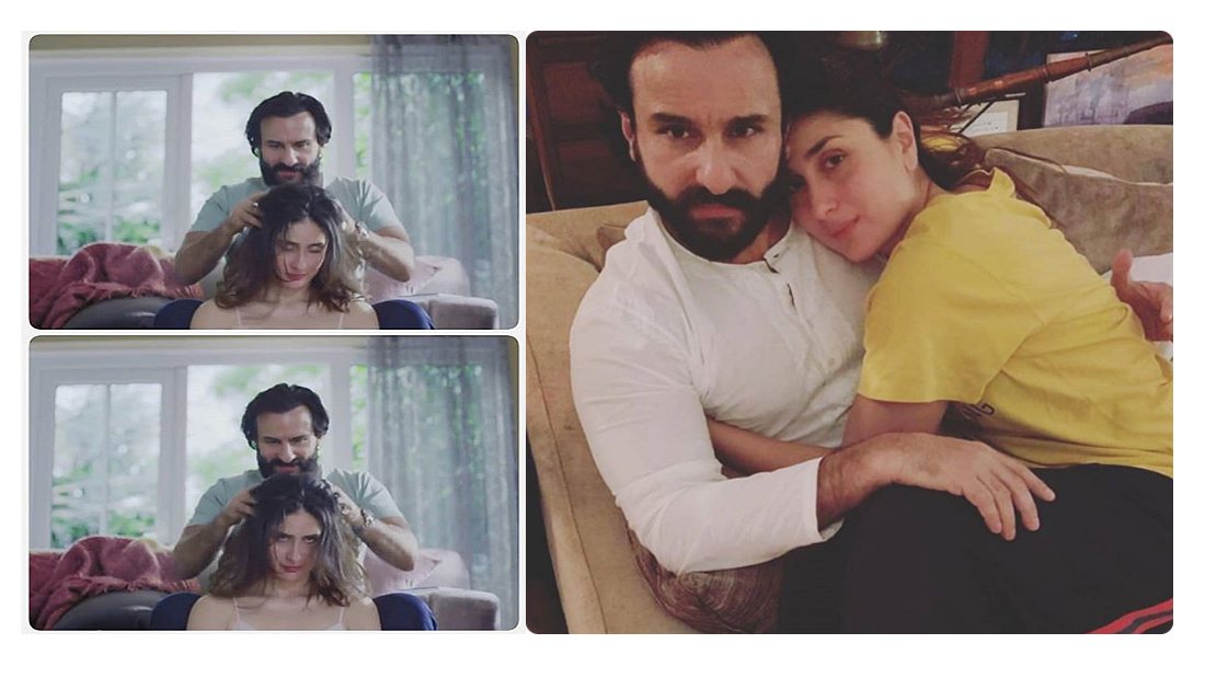 This picture of Kareena Kapoor and Saif Ali Khan is giving us all the feels!