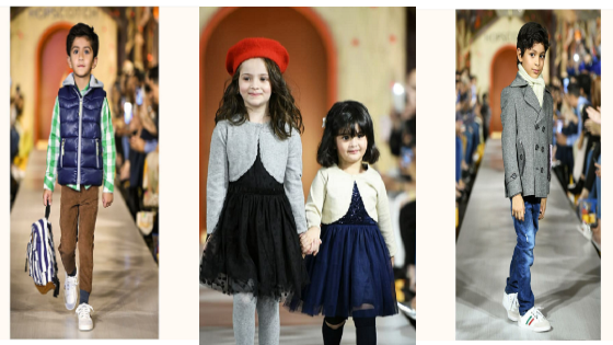 Adorable little models take over the Hopscotch runway!